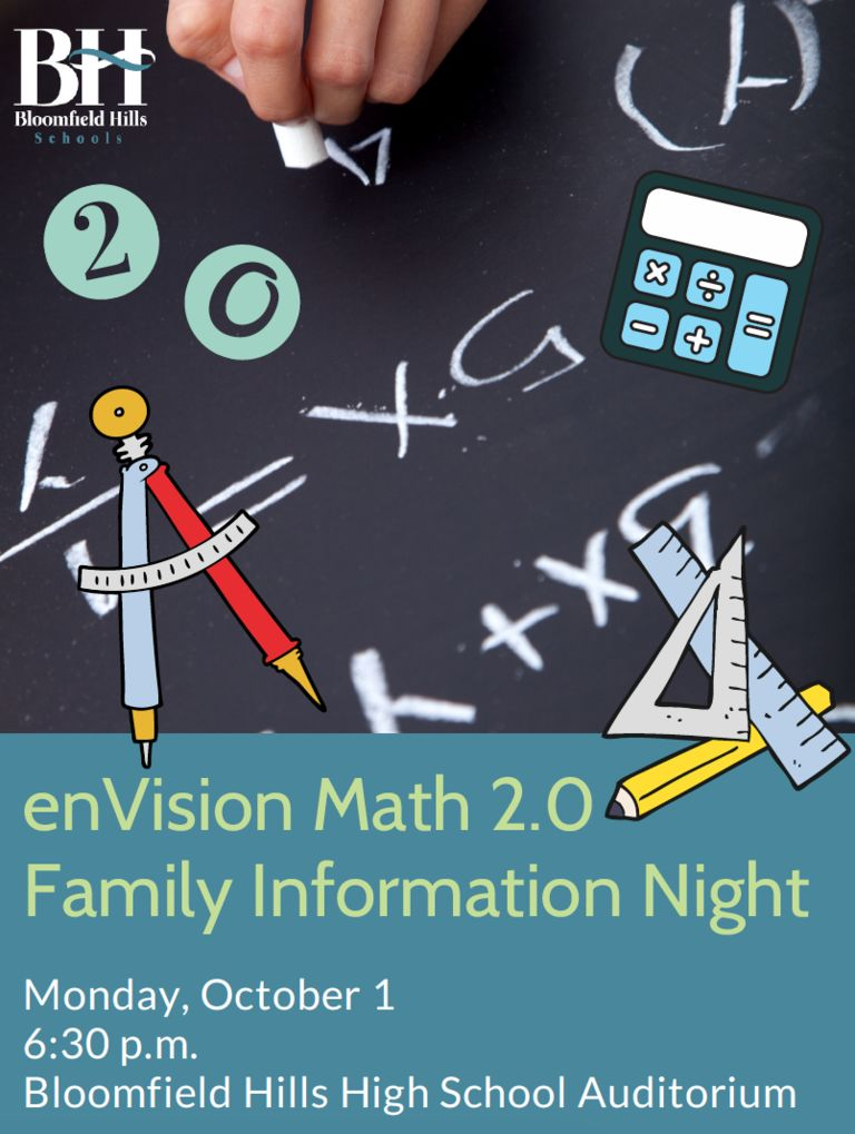 enVision Math 2.0 Family Information Night