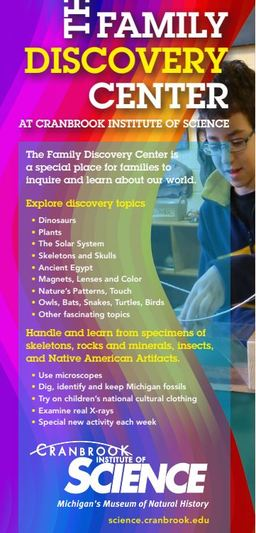 Family Discovery Center at Cranbrook Institute of Science