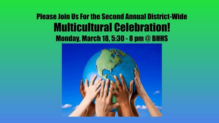 Join us for the Multicultural Celebration