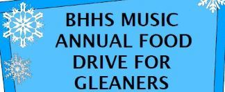BHHS Music Annual Food Drive
