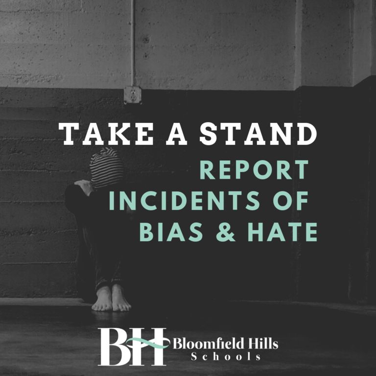 Report Incidents of Bias & Hate