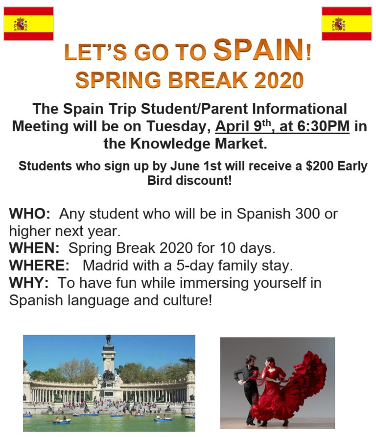 Let's Travel to Spain!