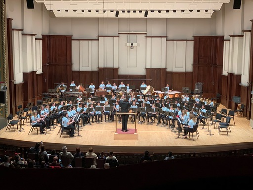 BHS Students Participate in DSO Middle School Honor Band Days