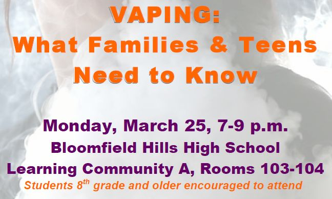 Vaping: What Families and Teens Need to Know