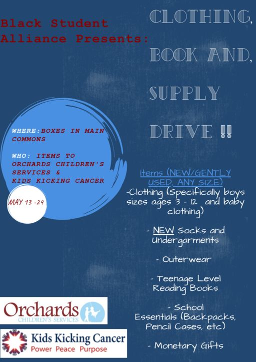 BSA Clothing, Book, & Supply Drive