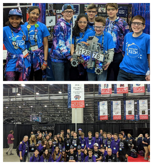 Robotics Teams Wrap Up Worlds Experience