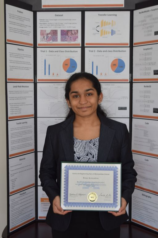 BHS Student Wins First Place Science and Intel Awards for Cancer Detection Process