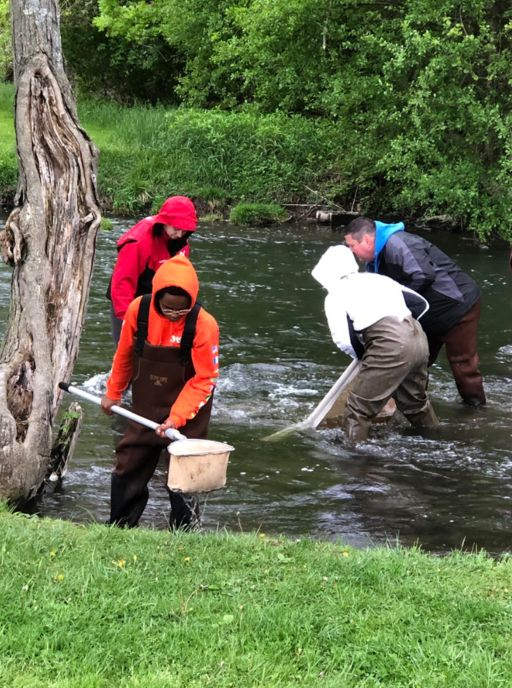 Bowers Academy Catches & Catalogs Watershed