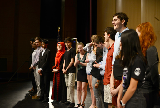 Board of Education Honors Students and Staff