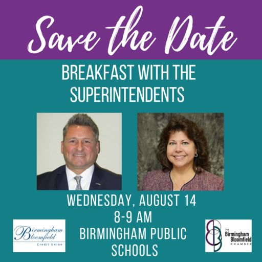 Save the Date: Breakfast with Superintendents