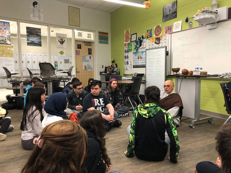IB Class Features Faith Experts and Field Trips