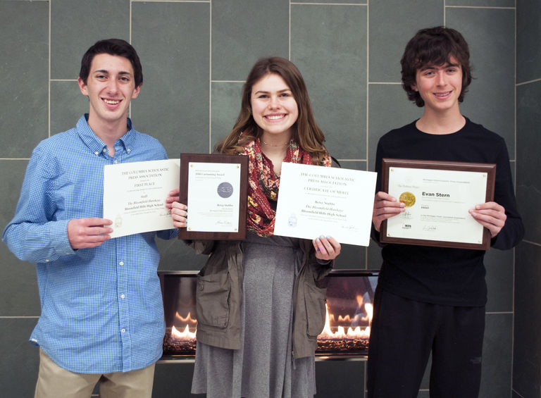 Hawkeye Students Win State and National Awards