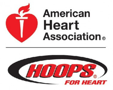 HOOPS FOR HEART CAMPAIGN RUNS THROUGH MARCH 24