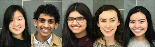 Five BHHS Students Named as U.S. Presidential Scholar Candidates