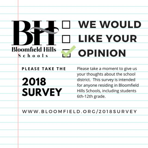Please Take the 2018 Survey