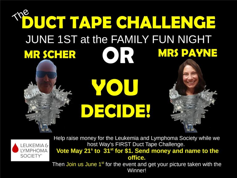 Way's Duct Tape Challenge