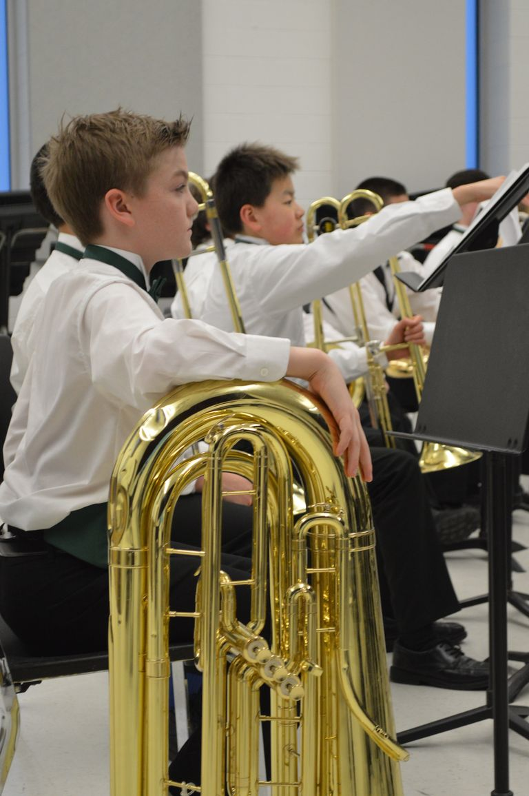 Students Experience MSBOA Festival at BHHS