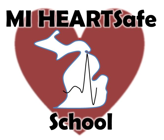 BHHS Receives MI HEARTSafe School Award