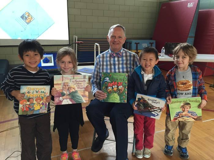 Author Lester Laminack Visits Local Libraries
