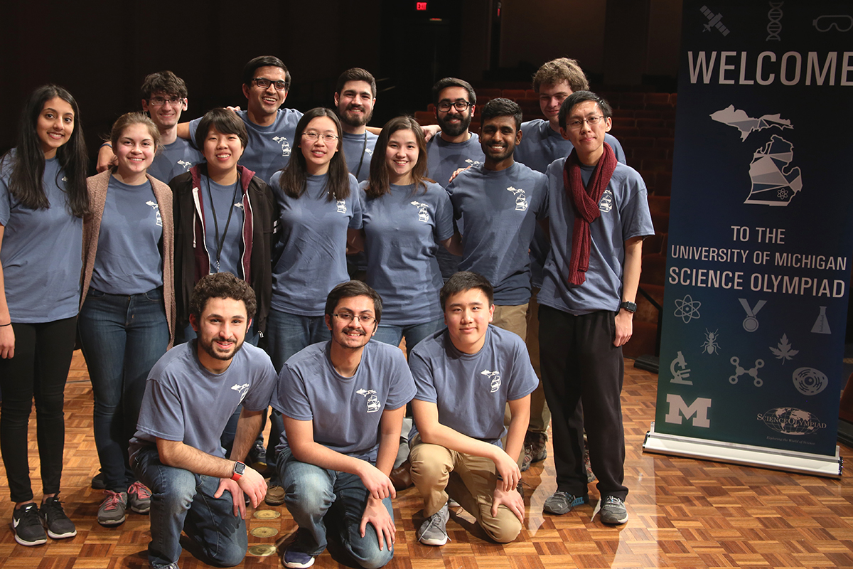 U of M High School Science Olympiad Team