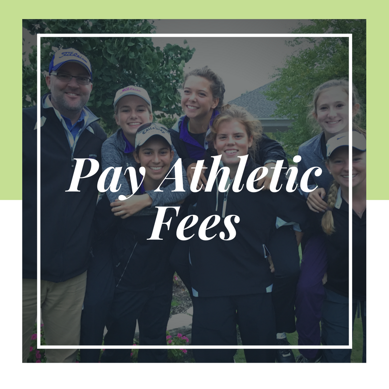 Pay Athletic Fees Link