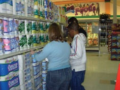 PREP Program Students at a store in Michigan