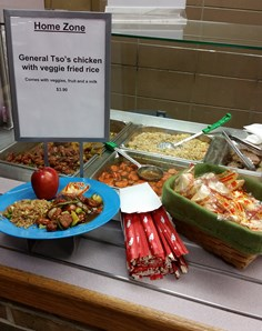 High School Lunch Options at Bloomfield Hills in Michigan