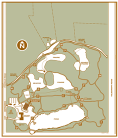 Bloomfield Hills Schools E.L. Johnson Nature Center Trail Map
