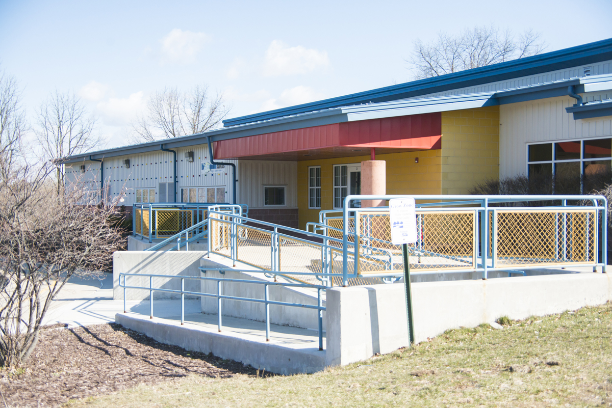ADA Compliant Ramp at Bloomfield Preschools